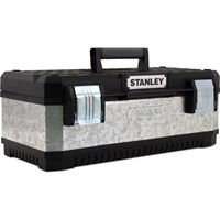 Stanley Galvanised Metal Tool Box