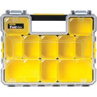 Stanley FatMax 10 Compartment Deep Pro Organiser Box