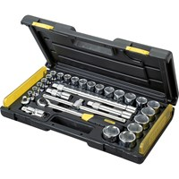 Stanley 29 Piece 1/2 Drive Microtough Socket Metric