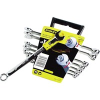 Stanley 8 Piece Accelerator Combination Spanner Set Metric