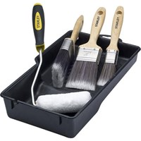 Stanley Paint Roller Brush and Tray Decorating Kit