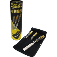 Stanley FatMax 3 Piece Wood Chisel Set