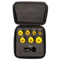 Starrett KCS07011 8 Piece General Purpose Hole Saw Set