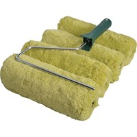 Stanley Padded Green Acrylic Paint Roller Set