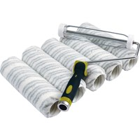 Stanley Silver Stripe Paint Roller Set