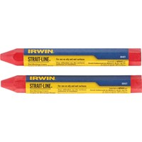 Straitline Crayons Red x 2 666012