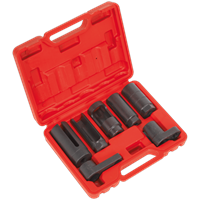 Sealey SX032 7 Piece Oxygen Sensor Wrench Set