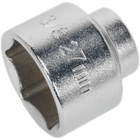 "Sealey 3/8"" Drive Low Profile Oil Filter Socket Metric"