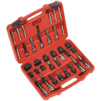 Sealey 35 Piece Alternator Freewheel Pulley Removal Tool Kit