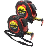 Sirius Professional 2 Piece Tuff Jack Tape Measure Set