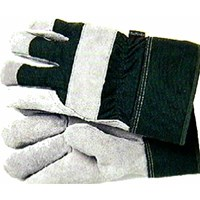 Town & Country Thermal Lined Leather Palm Green Glove