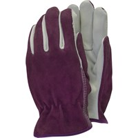 Town and Country Premium Leather and Suede Ladies Gloves