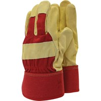 Town & Country Mens Lined Leather Palm Gloves