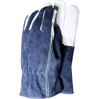 Town & Country Premium Leather & Suede Mens Gloves
