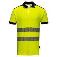 PW3 Vision Hi Vis Polo Shirt