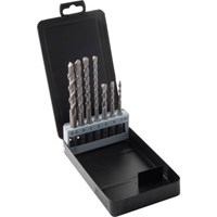 CK 7 Piece SDS Plus Drill Bit Set