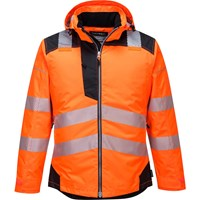 PW3 Hi Vis Winter Rain Jacket