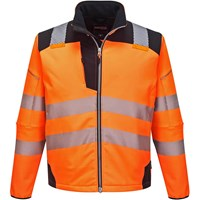PW3 Hi Vis Soft Shell Winter Rain Jacket