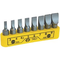 CK 8 Piece Slotted Screwdriver Bit Set