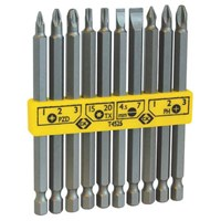 CK 10 Piece Long Reach Screwdriver Bit Set