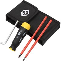 CK 3 Piece VDE Insulated Torque Screwdriver Set