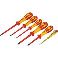 CK Dextro 6 Piece VDE Insulated Screwdriver Set