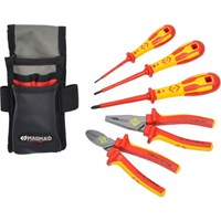 CK 5 Piece VDE Insulated Electricians Tool Kit