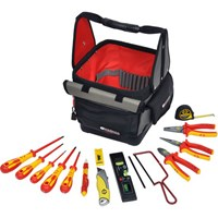 CK 14 Piece VDE Insulated Electricians Tool Kit