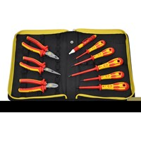 CK 9 Piece VDE Insulated Pliers and Pozi Screwdriver Kit