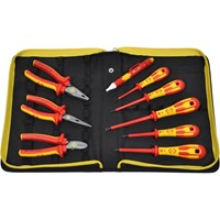 CK 9 Piece VDE Insulated Pliers and Phillips Screwdriver Kit