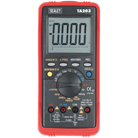 Sealey TA203 15 Function Digital Multimeter and USB Interface