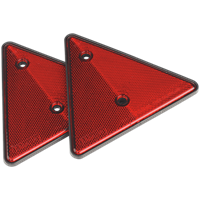 Sealey Rear Reflective Red Triangle