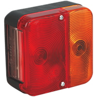 Sealey TB18 Rear Square Lamp Cluster