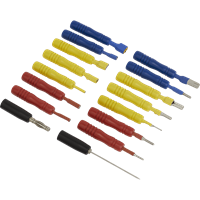 Sealey 16 Piece Test Lead Connector Set