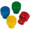 Sealey 4 Piece TPMS Deflator Valve Set - Colour Coded