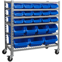 Sealey 22 Piece Mobile Bin Storage System