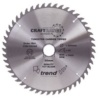 Trend CRAFTPRO Wood Cutting Saw Blade