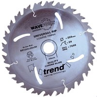 Trend Professional Wood Rip Cutting Saw Blade