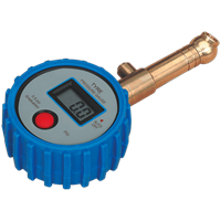 Sealey TST/PG98 Tyre Pressure Gauge Digital Swivel Head and Quick Release