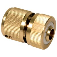 Sirius Brass Water Stop Hose Pipe Connector