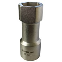 Sirius Professional 17mm 1/2 Drive Socket for 41mm Unistrut Channel
