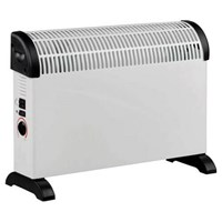 Prem I Air Electric Convector Heater Thermostat & Turbo Fan 2000w
