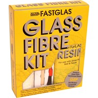 UPO Fastglas Resin & Glass Fibre Kit