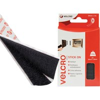 Velcro Stick On Tape Black