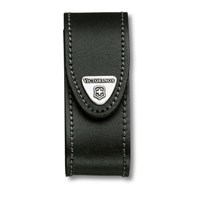 Victorinox Black Leather Pouch Fits 2-4 Layer Swiss Army Knives