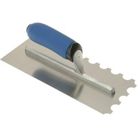 Vitrex Professional Stainless Steel 20mm Notched Adhesive Trowel