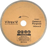 Vitrex Tile Cutting Diamond Blade