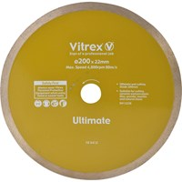 Vitrex Ultimate Diamond Blade For Wet Bridge Tile Saw