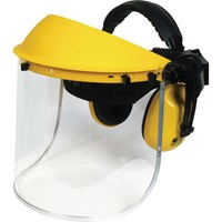 Vitrex Face Shield Safety Visor and Ear Defenders Set