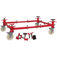 Sealey VMD002 4 Post Vehicle Moving Dolly